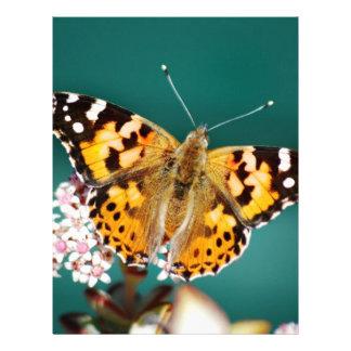 Las mariposas están libres plantilla de membrete