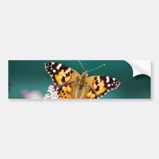 Las mariposas están libres pegatina para auto