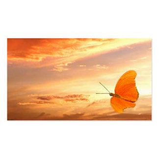 Las mariposas están libres plantilla de tarjeta personal