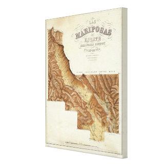 Las Mariposas Estate Mariposas County California Canvas Prints