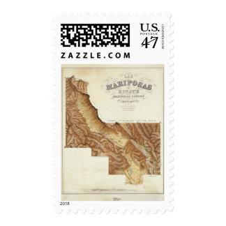 Las Mariposas Estate Mariposas County California Postage