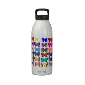 Las mariposas n de la CUENTA también APRENDEN los Botellas De Agua Reutilizables