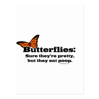 Las mariposas son bonitas pero comen impulso postal