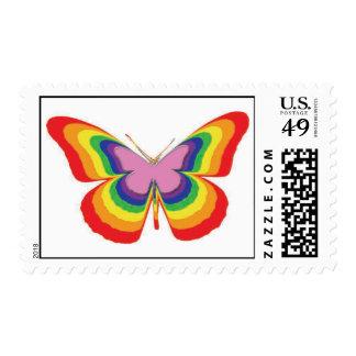 Las mariposas son envío postal gratis sellos