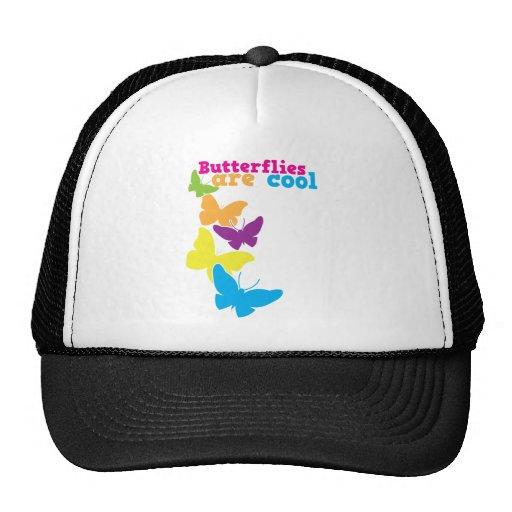 las mariposas son frescas gorra