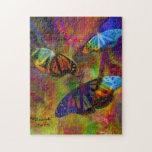 Las mariposas son hermosas rompecabezas con fotos
