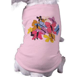 Las mariposas son suéter libre del perro ropa para mascota