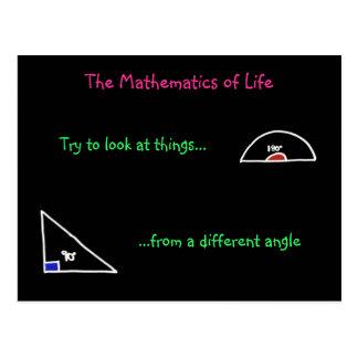Las matemáticas de la postal de la vida