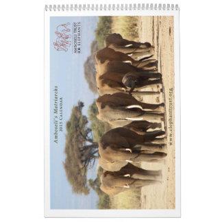 Las matriarcas hacen calendarios 2015