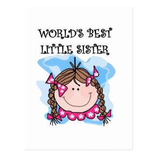 Las mejores camisetas de la pequeña hermana del postal