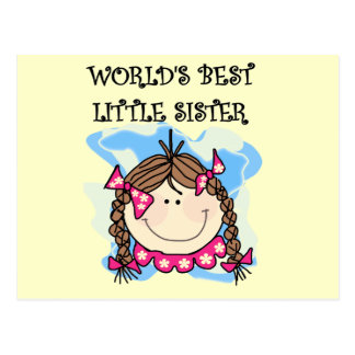 Las mejores camisetas de la pequeña hermana del postales
