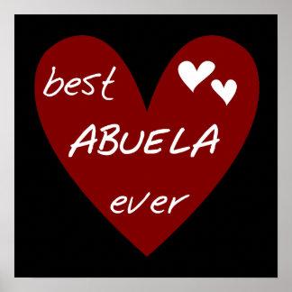 Las mejores camisetas y regalos de Abuela del cora Impresiones
