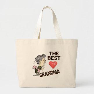 Las mejores camisetas y regalos de la abuela para  bolsa tela grande