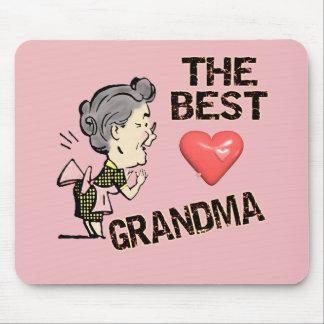 Las mejores camisetas y regalos de la abuela para  alfombrilla de raton