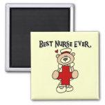 Las mejores camisetas y regalos de la enfermera nu imanes para frigoríficos