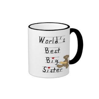Las mejores camisetas y regalos de la hermana gran taza de café