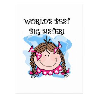 Las mejores camisetas y regalos de la hermana postal