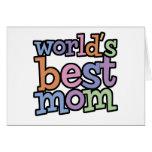 Las mejores camisetas y regalos de la mamá de los  felicitación