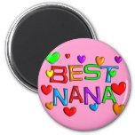 Las mejores camisetas y regalos de Nana Imán De Nevera