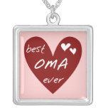 Las mejores camisetas y regalos de Oma del corazón Joyería