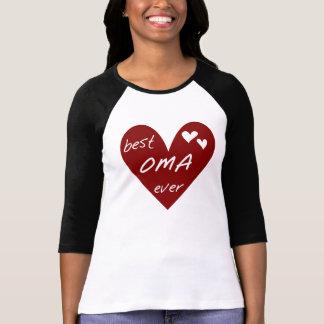 Las mejores camisetas y regalos de Oma del corazón Remera