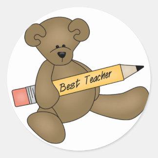 Las mejores camisetas y regalos del oso y del pegatina redonda
