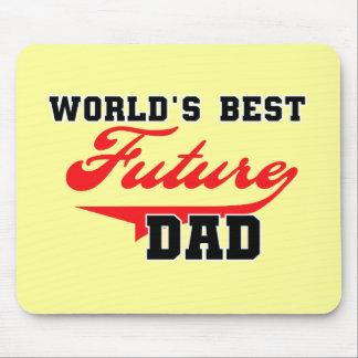 Las mejores camisetas y regalos futuros del papá d tapete de raton