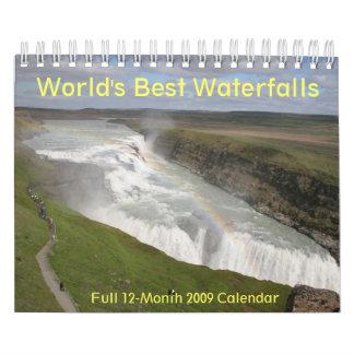Las mejores cascadas 2009 del mundo hacen calendario