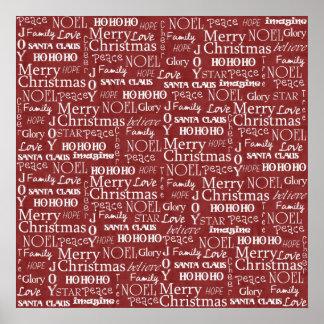 Las mejores cosas sobre navidad duran todo el año impresiones