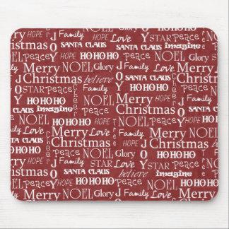 Las mejores cosas sobre navidad duran todo el año  tapete de raton