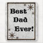 Las mejores estrellas del papá nunca tapetes de ratones