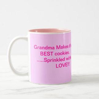 Las mejores galletas de las abuelas taza de dos tonos