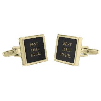 Las mejores mancuernas del papá nunca gemelos dorados