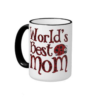 Las mejores mariquitas de la mamá de los mundos tazas de café