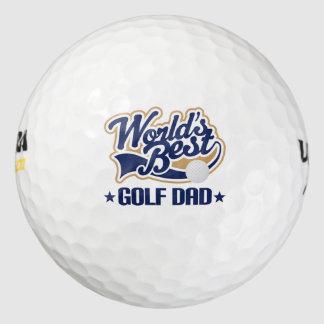 Las mejores pelotas de golf del regalo del papá