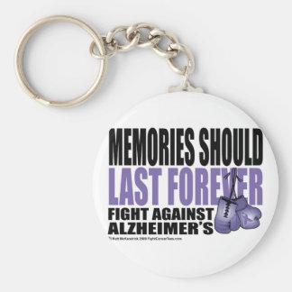 Las memorias deben durar para siempre llavero redondo tipo pin
