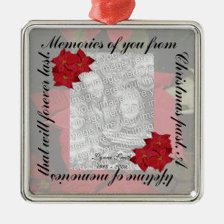 Las memorias del navidad personalizan ornamento para reyes magos
