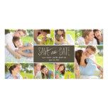 Las memorias dulces ahorran las tarjetas de la fot tarjetas fotograficas personalizadas