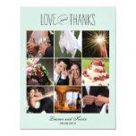 Las memorias dulces que casan la foto le agradecen anuncio personalizado