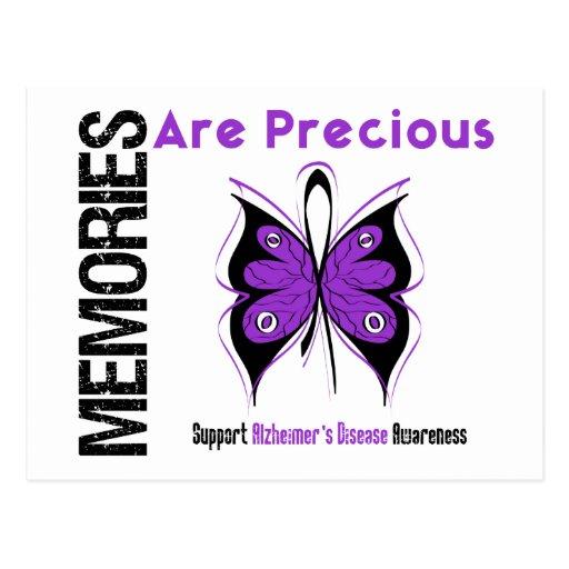 Las memorias son enfermedad de Alzheimer preciosa Postales