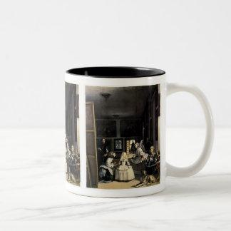 Las Meninas by Velasquez Two-Tone Coffee Mug