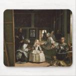 Las Meninas de Diego Velázquez Tapetes De Raton