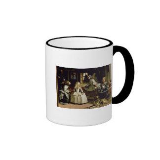 Las Meninas detail of the lower half depicting Ringer Mug