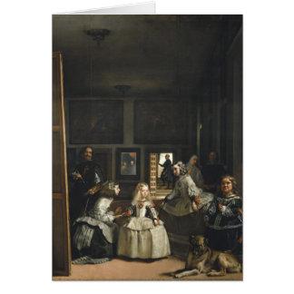 Las Meninas Diego Velázquez Fine Art Card