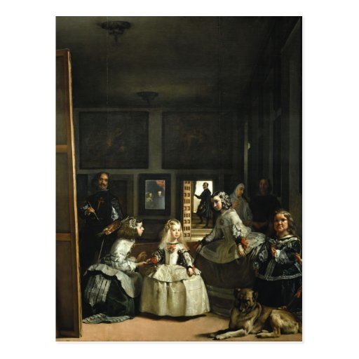 Las Meninas Diego Velázquez Fine Art Postcard | Zazzle