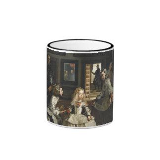 Las Meninas Diego Velázquez Fine Art Ringer Mug