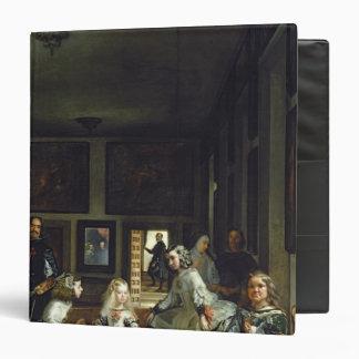 """Las Meninas o la familia de Philip IV, c.1656 2 Carpeta 1 1/2"""""""