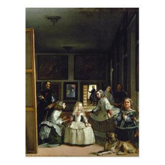 Las Meninas o la familia de Philip IV, c.1656 2 Postal