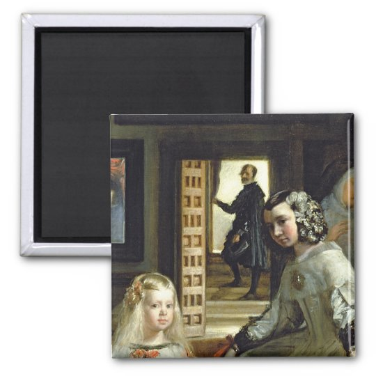 Las Meninas or The Family of Philip IV, c.1656 2 Magnet