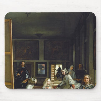 Las Meninas or The Family of Philip IV, c.1656 2 Mouse Pad